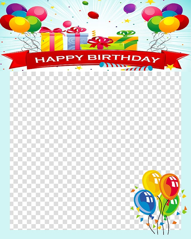 Happy birthday frames and borders clipart banner transparent library Happy Birthday border, Birthday Frames Android , Birthday Frame ... banner transparent library