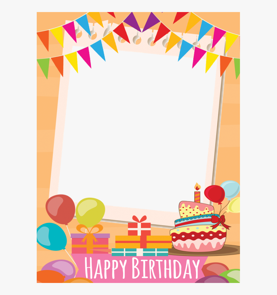 Happy birthday frames and borders clipart black and white library birthday #frame #border #birthdayboy #birthdayfreetoedit - Happy ... black and white library