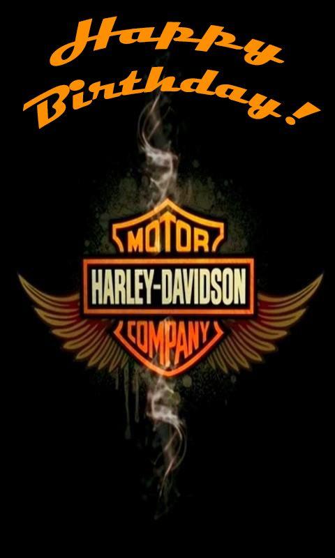 Happy birthday harley davidson mc free clipart banner library Happy Birthday! Harley Davidson! | Happy birthday quotes | Happy ... banner library