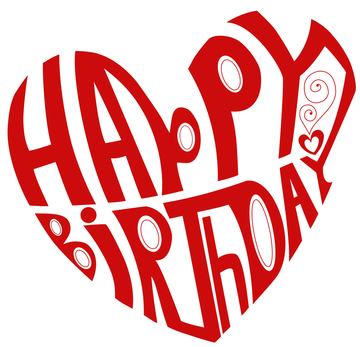 Happy birthday heart clipart for her clipart stock Transparent Heart Happy Birthday PNG Picture | Gallery Yopriceville ... clipart stock
