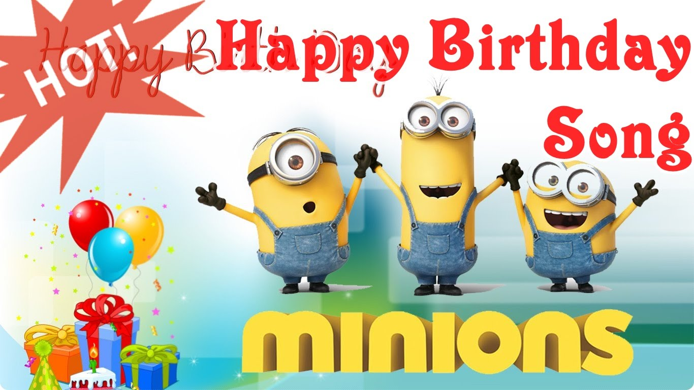 Happy birthday jerry clipart svg transparent library Happy Birthday Song Minions ★ Children Songs Nursery Rhymes for ... svg transparent library
