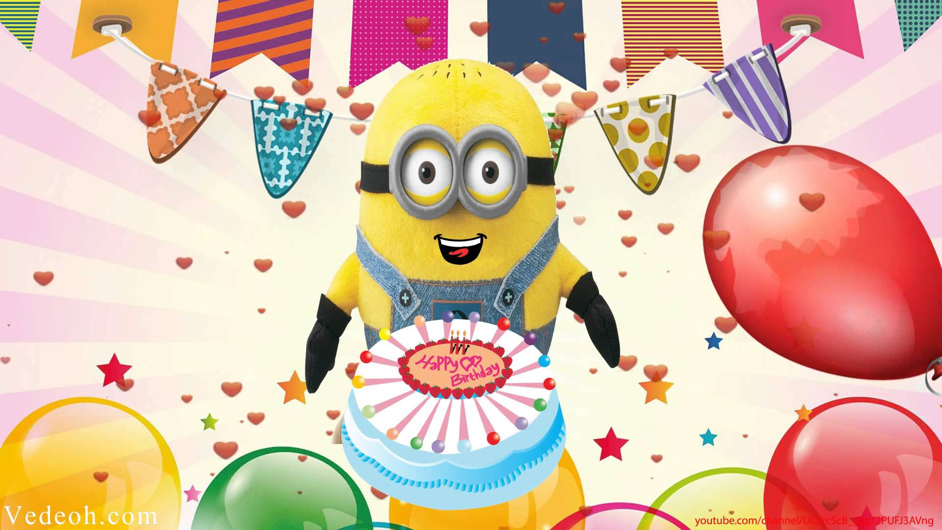 Happy birthday jerry clipart jpg transparent library Despicable Me Minion Jerry Buddie Singing Happy Birthday Song ... jpg transparent library