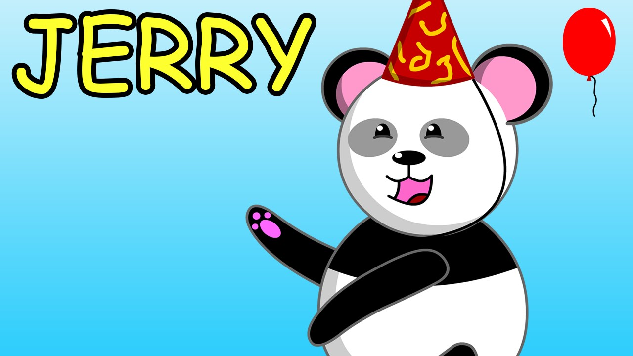 Happy birthday jerry clipart svg free library Happy Birthday Jerry - YouTube svg free library