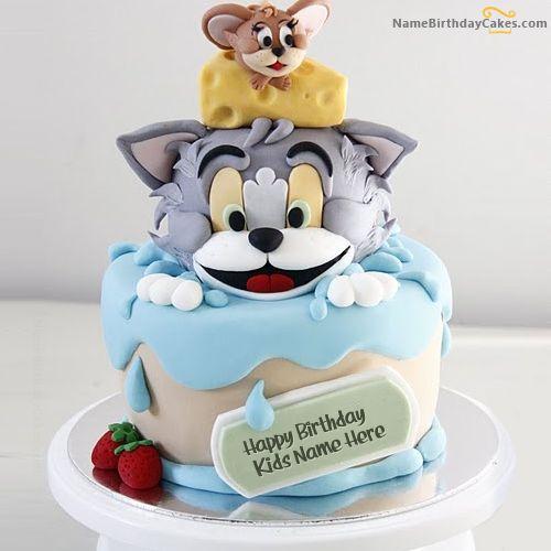 Happy birthday jerry clipart jpg black and white stock Best 20 Happy Birthday Cake Designs, Pictures, Clip Art - Birthday ... jpg black and white stock