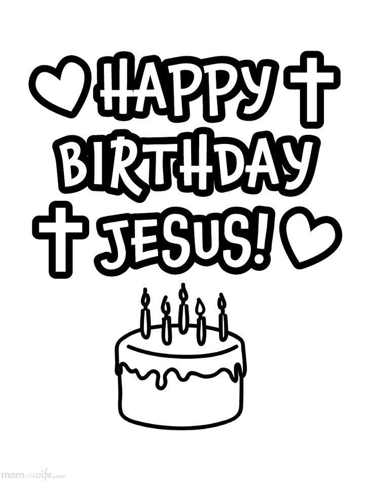 Happy birthday jesus black and white clipart image royalty free Free Happy Birthday Jesus Pics, Download Free Clip Art, Free Clip ... image royalty free