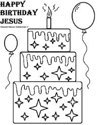Happy birthday jesus cake clipart jpg black and white stock Happy birthday jesus cake clipart - ClipartFox jpg black and white stock