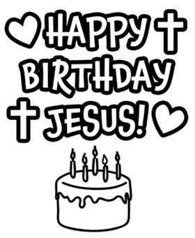 Happy birthday jesus cake clipart clipart freeuse download 17 Best images about Birthday Party for Jesus on Pinterest ... clipart freeuse download