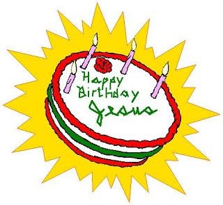 Happy birthday jesus cake clipart vector free library Cartoon Network Walt Disney Pictures: Christmas Birthday Cards ... vector free library