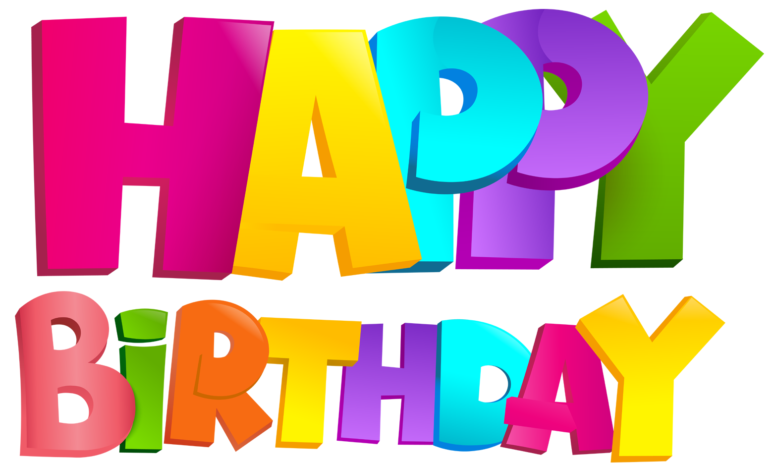 Happy birthday logos clipart jpg transparent download Happy Birthday PNG Images Transparent Free Download   PNGMart.com jpg transparent download