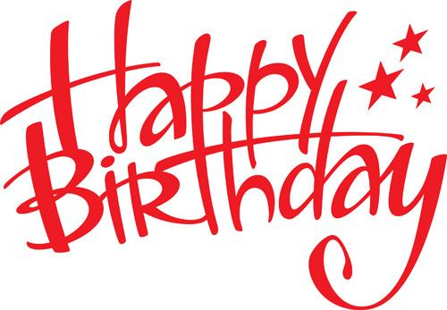 Happy birthday logos clipart vector royalty free download Happy birthday clip art free vector download free 2 – Gclipart.com vector royalty free download