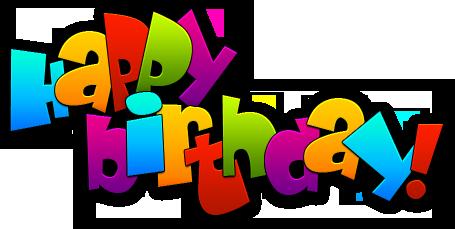 Happy birthday logos clipart png royalty free stock Happy Birthday to \