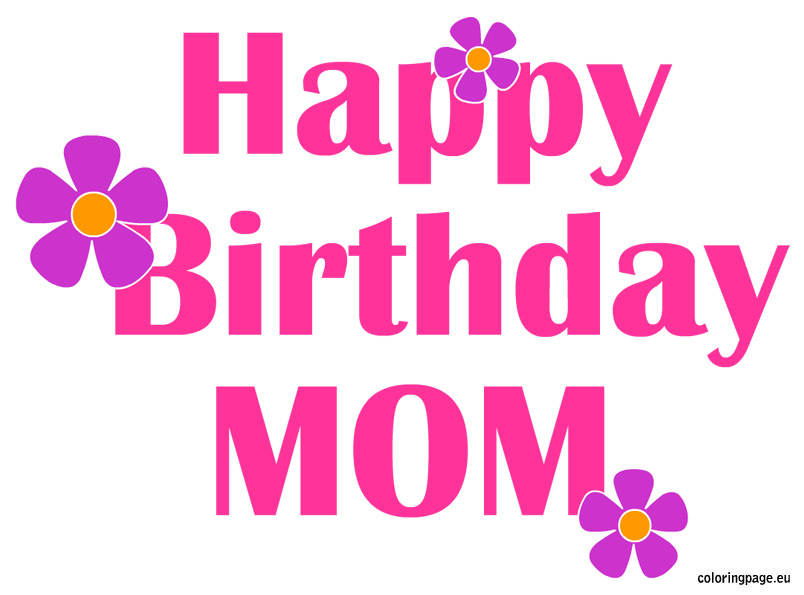 Happy birthday mama clipart jpg black and white 17 Best images about happy birthday mom on Pinterest | Birthday ... jpg black and white