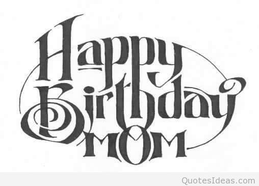 Happy birthday mama clipart