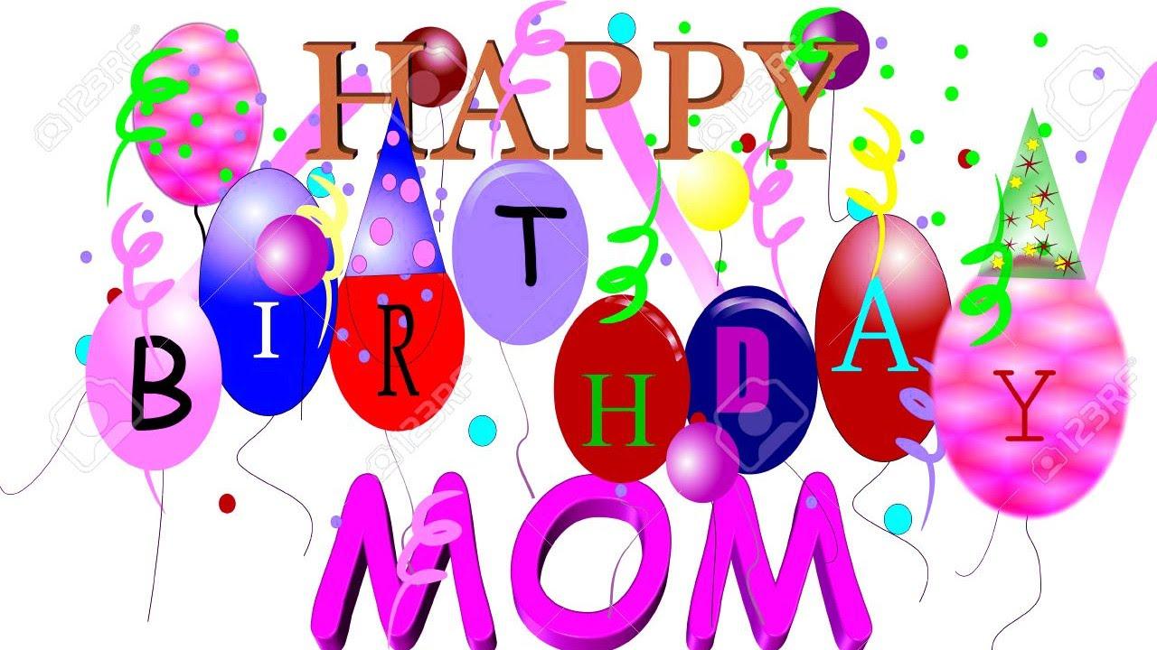 Happy birthday mama clipart clip art free download Happy Birthday mom - baby animals say - YouTube clip art free download