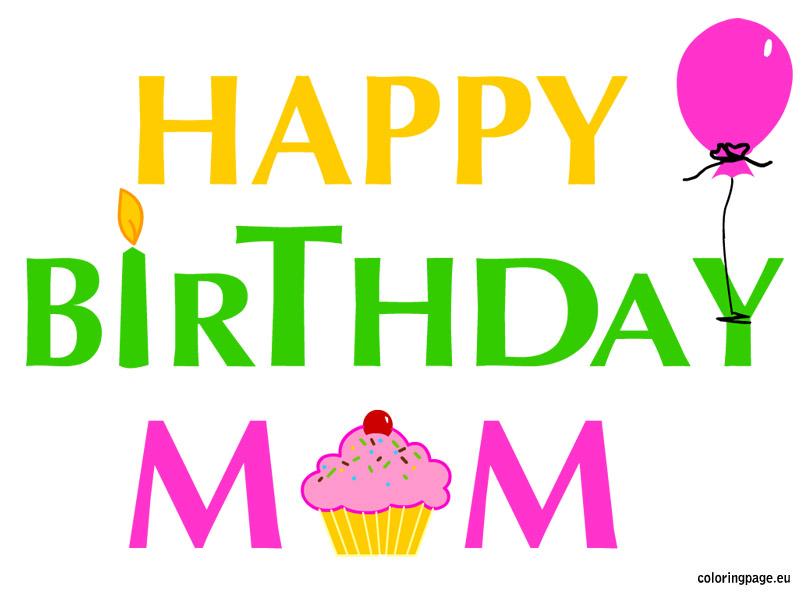 Happy birthday mama clipart clipart transparent Happy birthday mama clipart - ClipartFest clipart transparent
