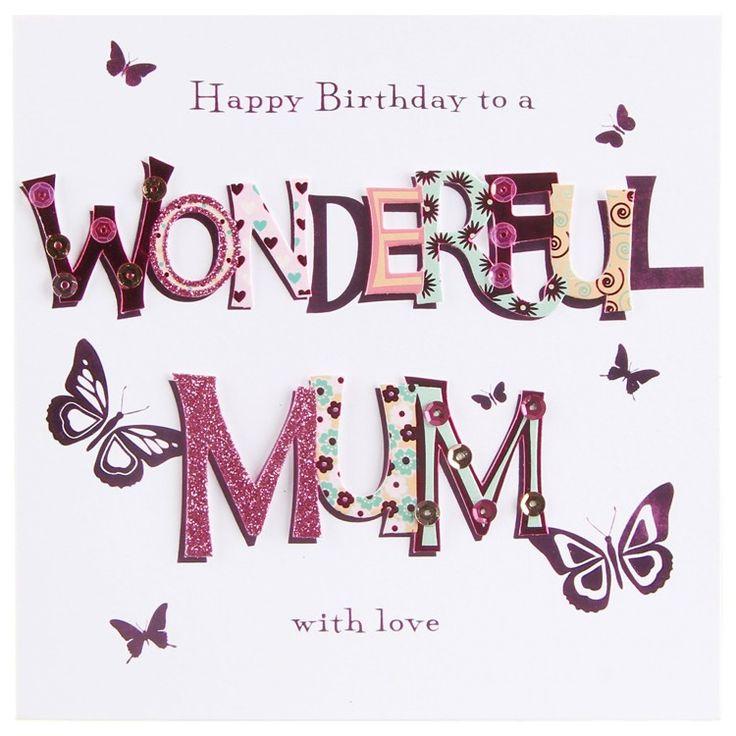 Happy birthday mama clipart clip royalty free download Happy birthday | mum things | Pinterest | Happy birthday ... clip royalty free download