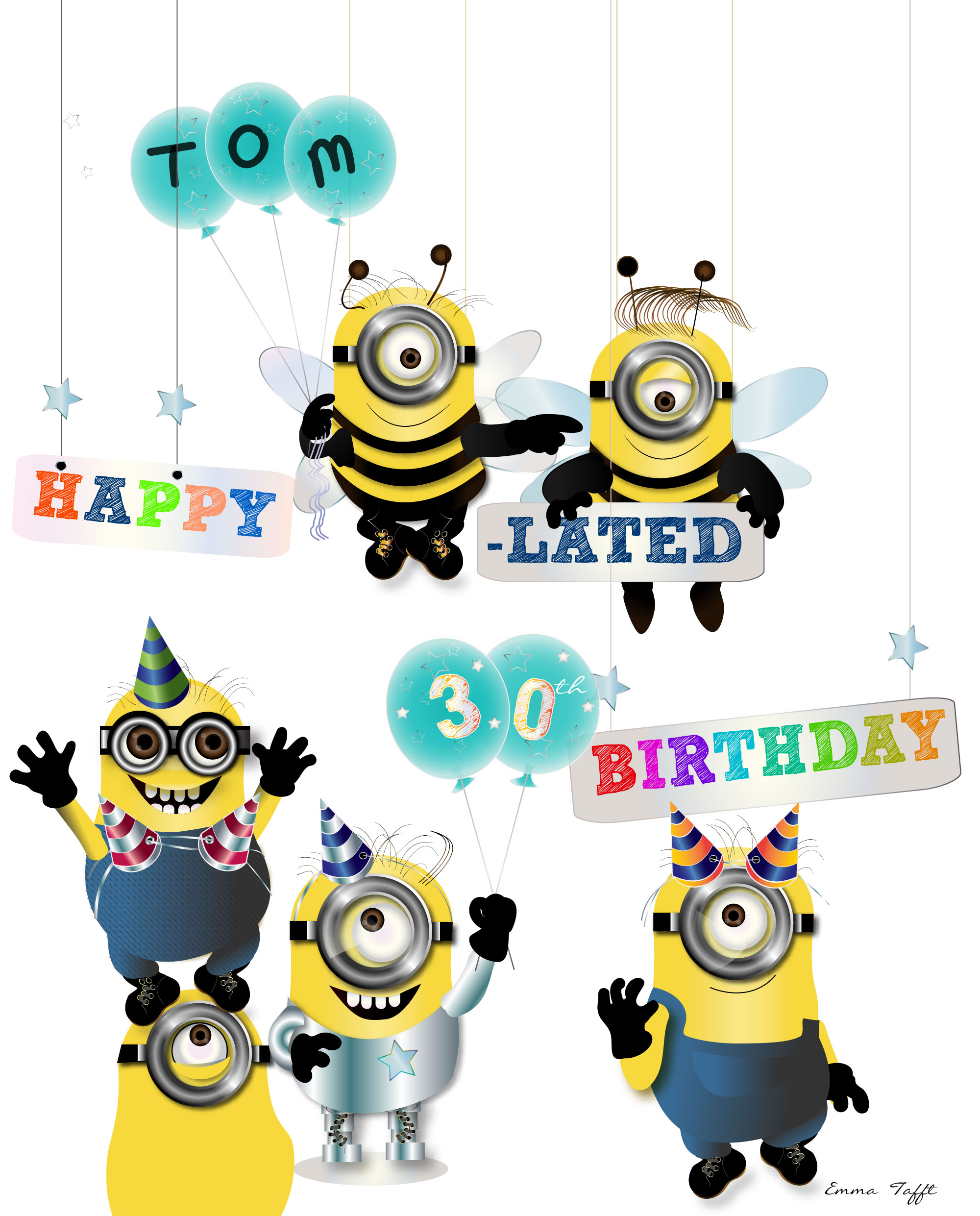 Happy birthday minion clipart vector freeuse stock Minion birthday clipart - ClipartFest vector freeuse stock