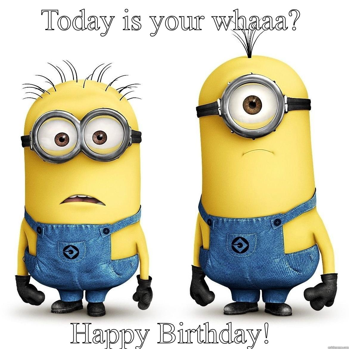 Happy birthday minion clipart vector royalty free stock 1000+ images about verjaardagskaarten on Pinterest   Birthday ... vector royalty free stock