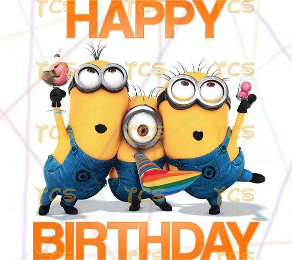 Happy birthday minion clipart graphic download Minions happy birthday clip art - ClipartFest graphic download