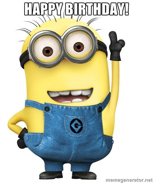 Happy birthday minion clipart free library 17 Best images about Happy Birthday on Pinterest   Birthday wishes ... free library