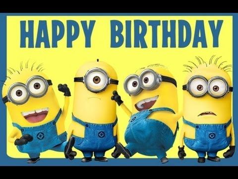 Happy birthday minion clipart png freeuse 17 Best images about Happy Birthday on Pinterest   Birthday wishes ... png freeuse