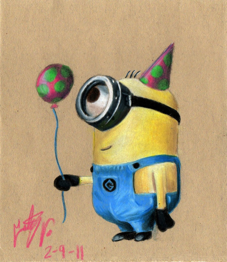 Happy birthday minion clipart jpg freeuse library Minion Birthday Clipart - Clipart Kid jpg freeuse library