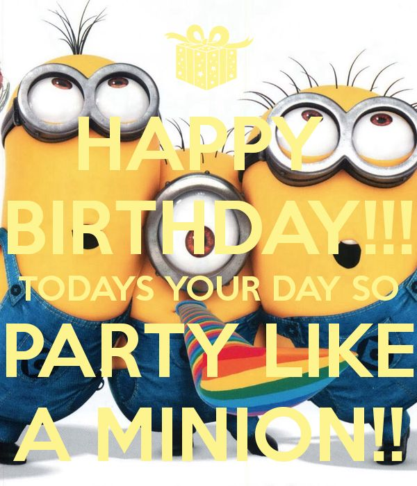 Happy birthday minion clipart clip art transparent library 17 Best ideas about Happy Birthday Minions on Pinterest   Minion ... clip art transparent library