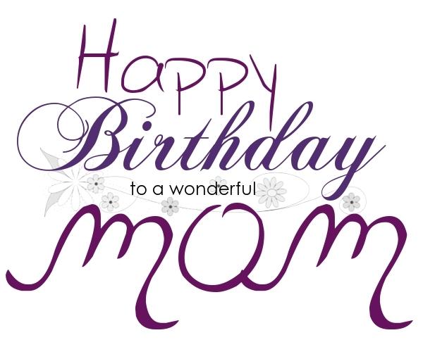 Happy birthday mom cake clipart clip transparent download Happy birthday mom clipart - ClipartFest clip transparent download