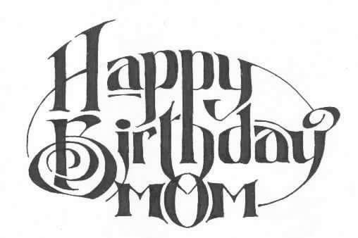 Happy birthday mom cake clipart jpg transparent Images For Happy Birthday Mom - ClipArt Best jpg transparent