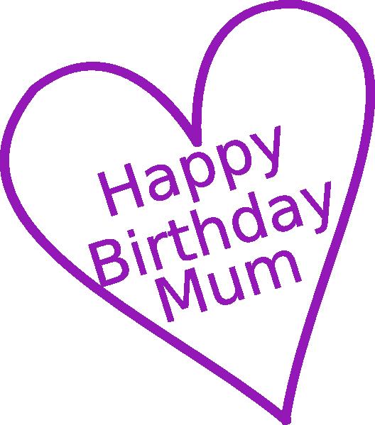 Happy birthday mom cake clipart jpg free library Happy Birthday Mom Clip Art - ClipArt Best jpg free library