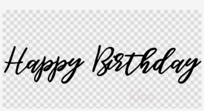 Happy birthday text art clipart clip Result For: happy birthday text art , Free png Download - trzcacak.rs clip