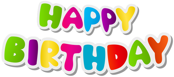 Happy birthday text art clipart library Happy Birthday Text PNG Clip Art Image | Gallery Yopriceville ... library