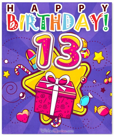 Happy birthday to a 13 year old clipart picture Pinterest – Пинтерест picture
