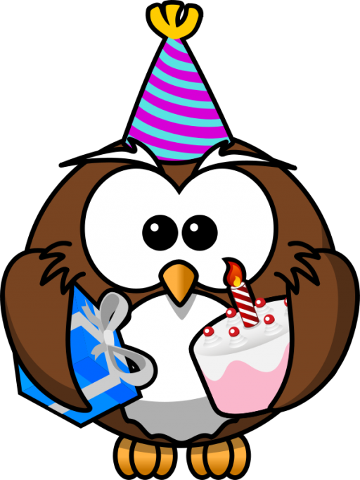 Happy birthday turkey clipart clipart transparent library Happy Birthday Owl Icon, PNG ClipArt Image | IconBug.com clipart transparent library