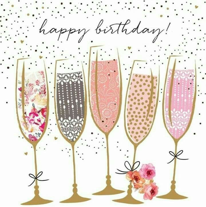 Happy birthday wine clipart svg download Happy Birthday Champagne Toast | Birthday Graphics | 40th birthday ... svg download