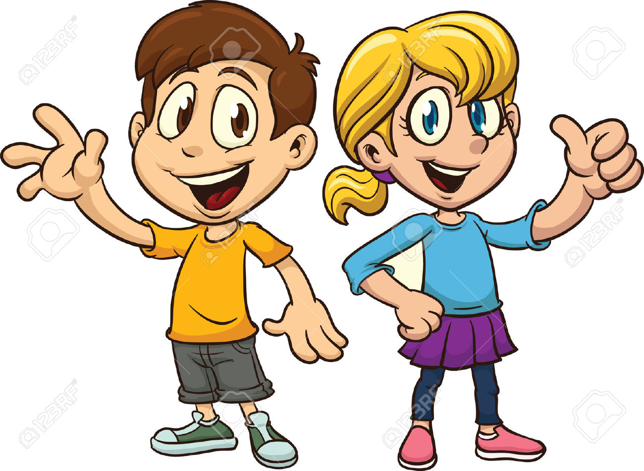 Happy boy and girl clipart graphic royalty free 79+ Boy And Girl Clip Art | ClipartLook graphic royalty free