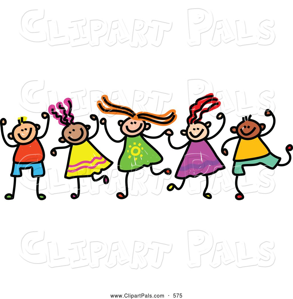 Happy boy and girl clipart graphic library clipart of girls and boys | Friend Clip Art © Prawny | For Daycare ... graphic library