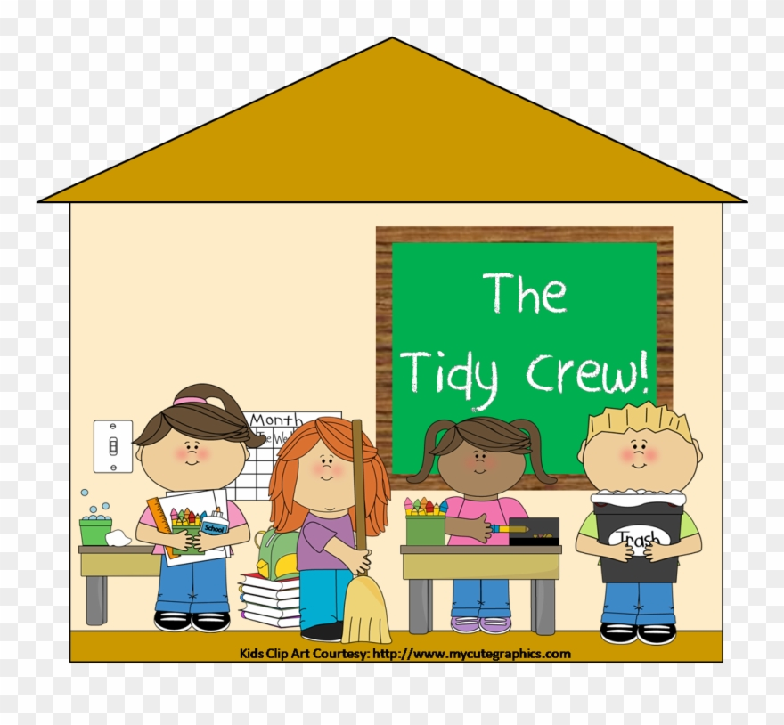 Happy classroom clipart image free Classroom Pictures - Clean Up Classroom Clipart - Png Download ... image free