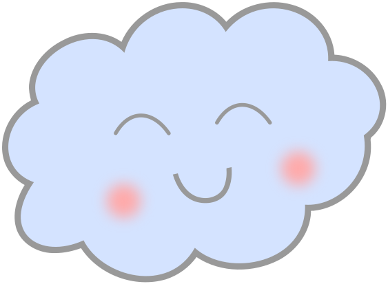 Happy cloud clipart clipart royalty free cute happy cloud - /weather/clouds/clouds_3/cute_happy_cloud.png.html clipart royalty free
