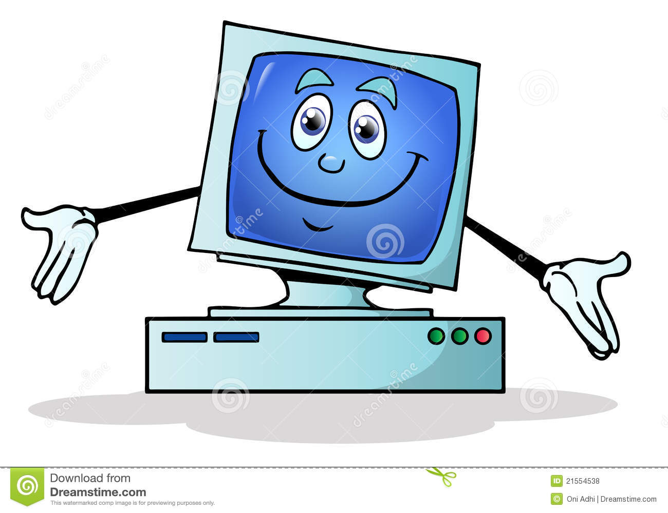 Happy computer user clipart vector royalty free library Happy Computer User | Clipart Panda - Free Clipart Images vector royalty free library