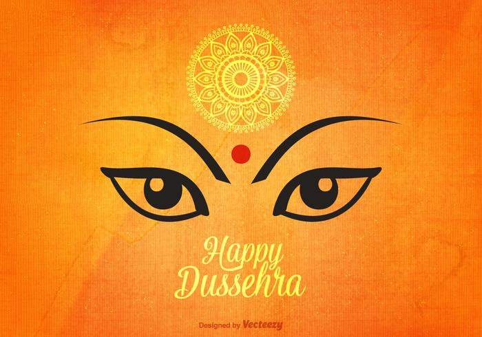 Happy dasara clipart svg library download Happy Dussehra Vector Background - Download Free Vectors, Clipart ... svg library download