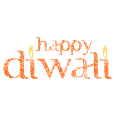 Happy diwali clipart text clipart black and white stock Happy Diwali Text transparent PNG - StickPNG clipart black and white stock