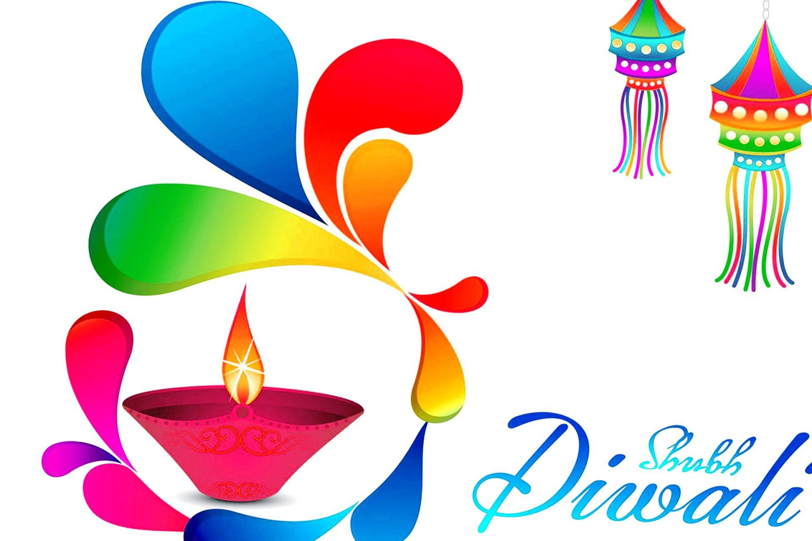 Happy diwali clipart text effect banner library stock Happy Diwali Drawing | Free download best Happy Diwali Drawing on ... banner library stock