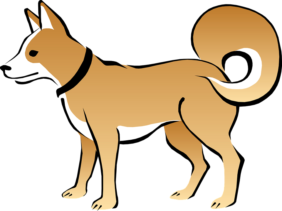 Happy dog clipart black and white svg black and white Pet Clipart Dog Tail#3781339 svg black and white
