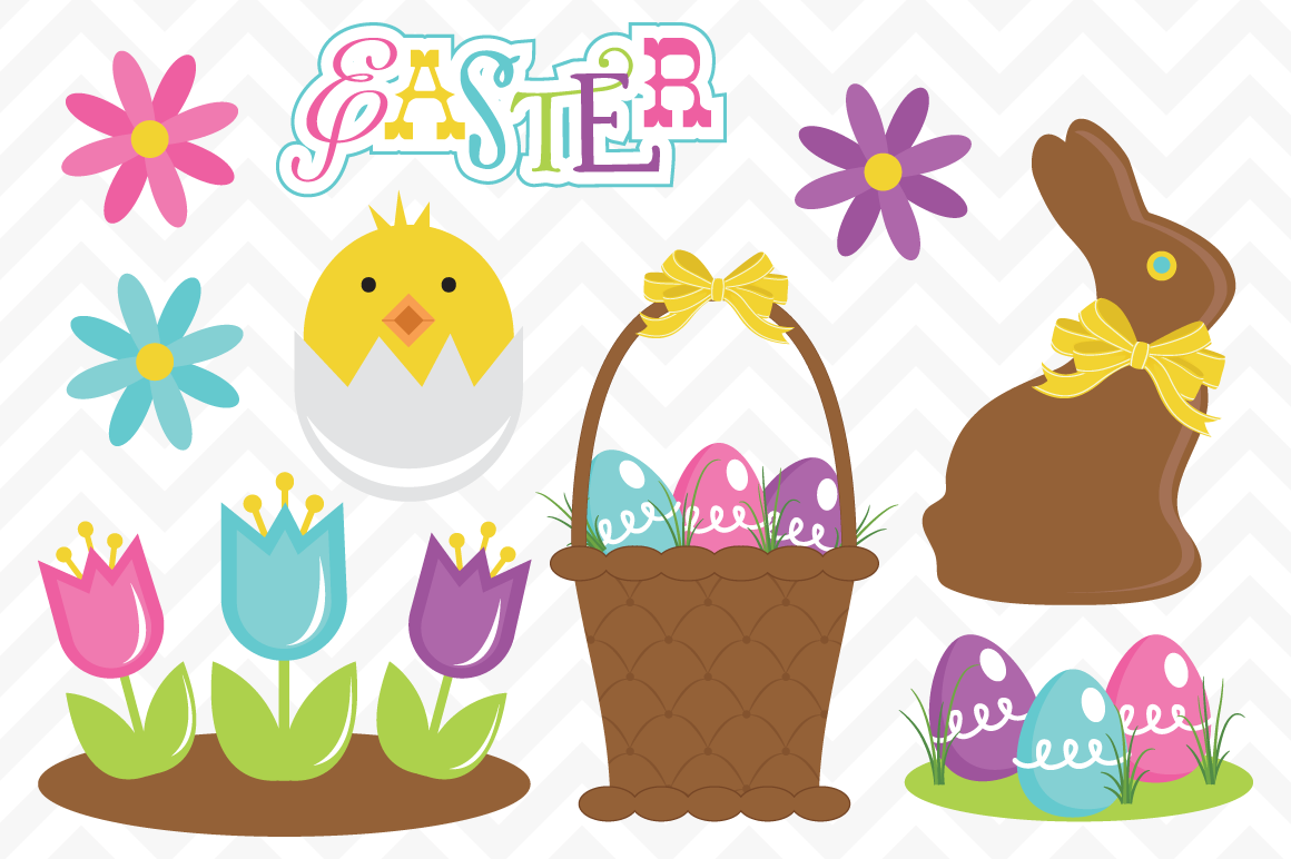 Happy easter basket clipart graphic transparent Cute easter basket clipart - ClipartFest graphic transparent