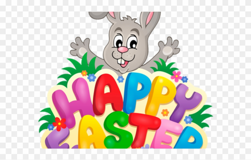 Happy easter clipart religious banner library library Easter Bunny Clipart Religious - Easter Bunny Happy Easter - Png ... banner library library