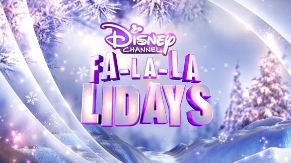 Happy fa la la la la lalidays clipart png transparent library Have a magical Fa-la-la-liday experience on Disney Channel! png transparent library