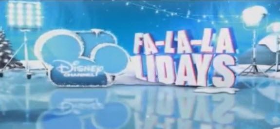 Happy fa la la la la lalidays clipart clip art free library Disney Channel\'s 2015 \