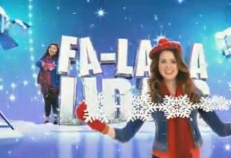 Happy fa la la la la lalidays clipart image free library Video: 2012 \