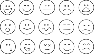 Happy face sad face clipart svg library library Smiley Face Clip Art at Clker.com - vector clip art online, royalty ... svg library library